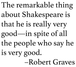 Graves Shakespeare Quote